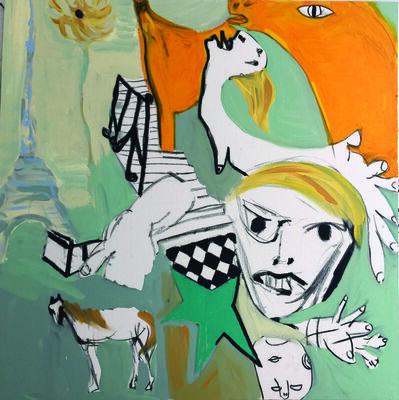 Claudia Baez, 'Patti Smith Land 250: Escalier, Hotel Chelsea; Robert Mapplethorpe, Hotel Chelsea Sept 1969; L'etoile de Robert, Londres; Mon cheval, Namibie Afrique; Tour Eiffel, Paris; Detail, Guernica, Madrid; Jesse Tenant une fleur; Femme de Kooning, MoMa April 1968.', 2018