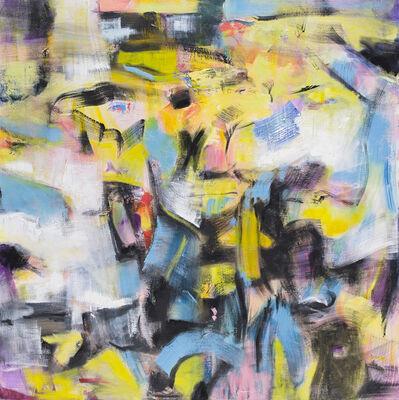 Lynn Letourneau, 'Walk on By, Yellow & Blue', 2018