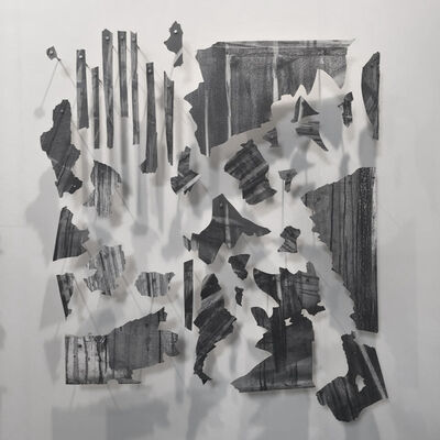 Mauro Giaconi, 'Untitled (fragments of the mural Desde el fondo del tiempo)', 2016