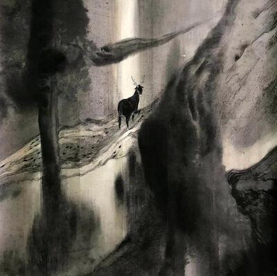 Lin Yusi, 'A Deer Looking Back 鹿回頭', 2014