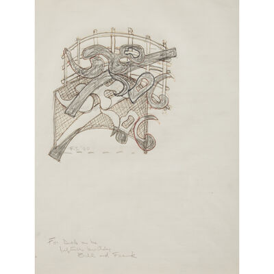 Frank Stella, 'Untitled'