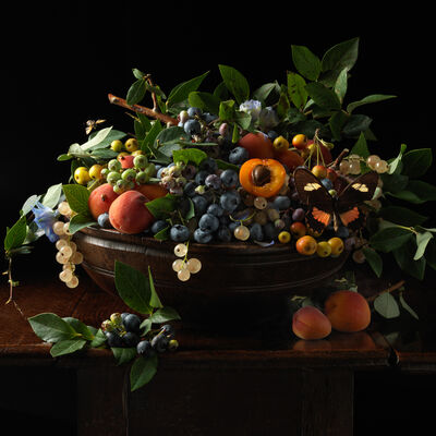 Paulette Tavormina, 'Blueberries and Apricots', 2013