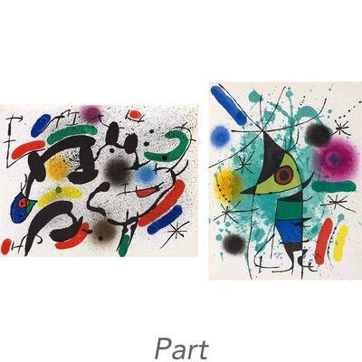 Joan Miró, 'Miró Lithographs I-IV (M. 854; 857-867; 1036-1047; 1112-1117; 1255-1260; C. Bks. 160; 198; 230; 249)'