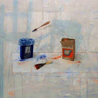Antoni Dura, 'Pigmentos con Espatula (Pigments with a Spatula)', 2020