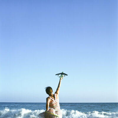 Cig Harvey, 'Plane, Self Portrait, Los Angeles, CA', 2004