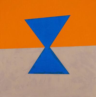 Donald Alberti, 'Visual Logic (blue, orange, grey)', 2003
