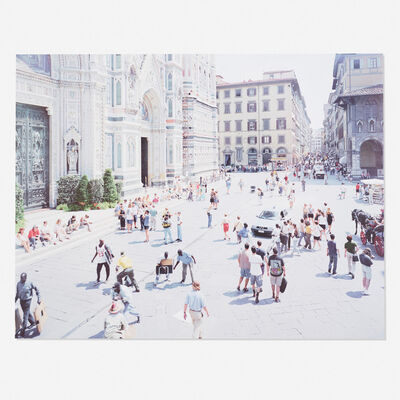 Massimo Vitali, 'Firenze Via Via (from the Landscapes with Figures portfolio)', 2006