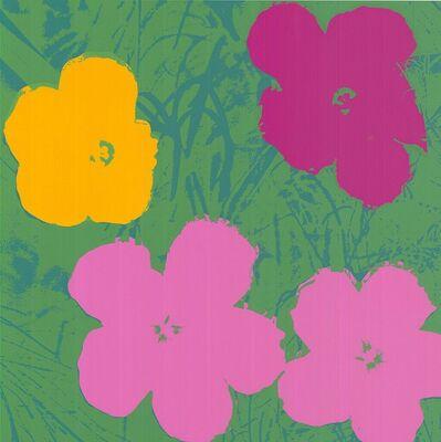 Sunday B. Morning, 'Flowers (Yellow, Pink, Purple Hues - Warhol, Pop Art)', 2018