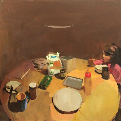 Marc Dailly, 'Lou à table'