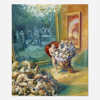Julie Heffernan, 'Study for Self Portrait as Gatherer', 2013