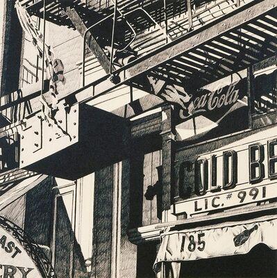 Robert Cottingham, 'Cold Beer', 1977