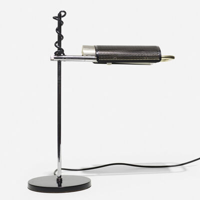 George Nelson & Associates, 'Eyeshade desk lamp', 1975