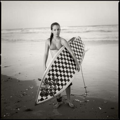 Kenny Braun, 'Checkered Board, South Padre Island', 2002