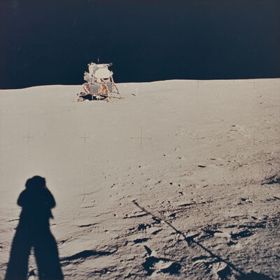 Neil Armstrong, 'Lunar module from East Crater (Little West Crater)', 1969