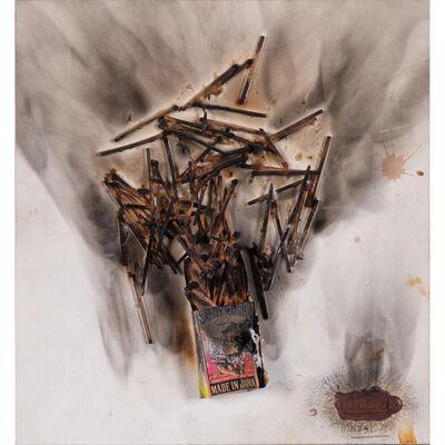 César, 'Combustion d'allumettes', 1970