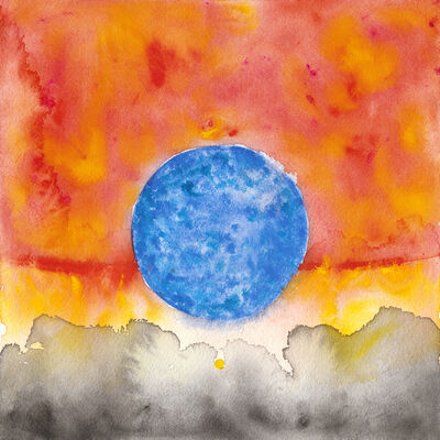 Lisa Rawlinson, 'Scale Comparison of the Sun, Giant Star, and Supergiant', 2017