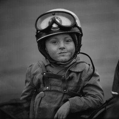 Thomas Billhardt, 'Junge mit Motorradhelm', 1962