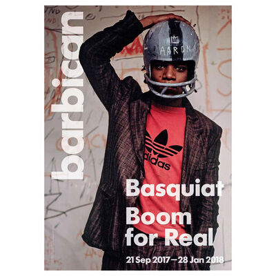 Jean-Michel Basquiat, 'Basquiat Boom for Real Exhibition Poster, London', 2017