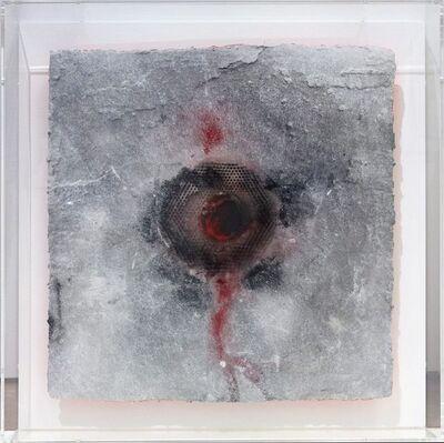 Bernd Caspar Dietrich, 'Glass & Fire 2: Red Silver', 2018