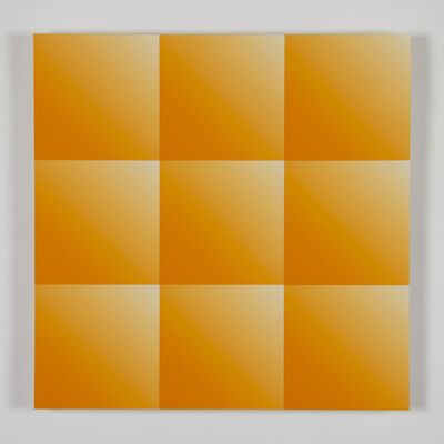 James Hillman, 'Panel, Broccato (Orange)', 2019