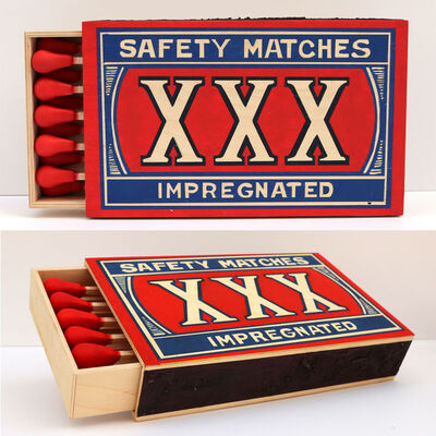 Stephen Paul Day, 'XXX Safety Matches (SDAY 0247)', 2017
