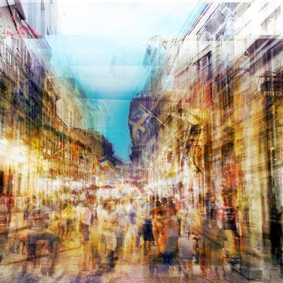 Chris Albert, 'Rue St.Denis @ night', 2018