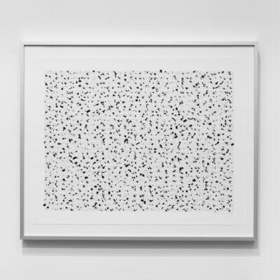 Manfred Mohr, 'P2400-297d_5225__black', 2018 (1977)