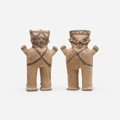 Chancay Culture, 'Cuchimilco figures, pair', c. 900-1200 AD