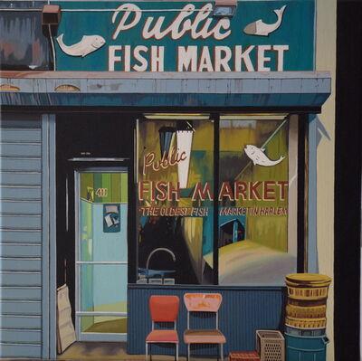MARTA MEZYNSKA, 'Fish Market', 2015