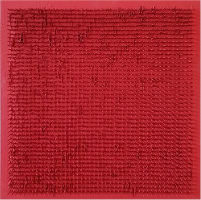 Bernard Aubertin, 'Tableau clous 50x50 ', 1970