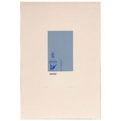 Robert Motherwell, 'Gauloises Bleues', 1970