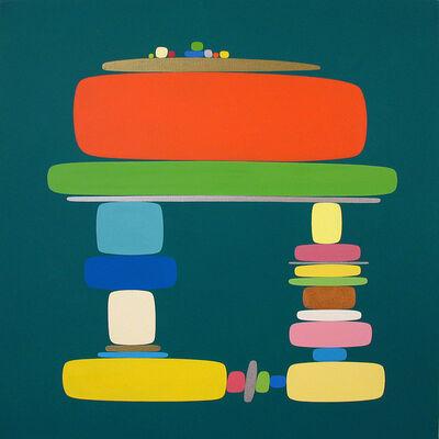 Soonae Tark, 'In Green 03-1 ', 2003