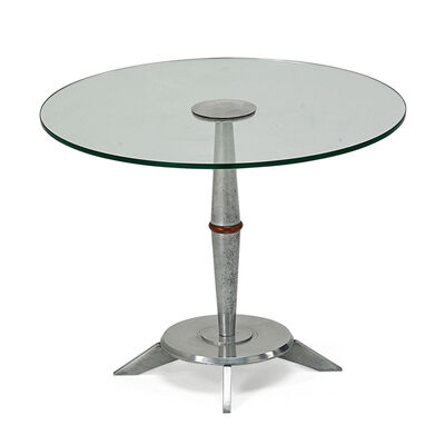 American Industrial, 'Side Table', Mid-20th C.