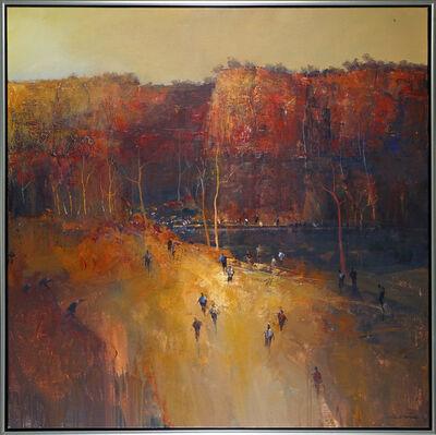 Mel Brigg, 'Gathering at the Gorge', 2018