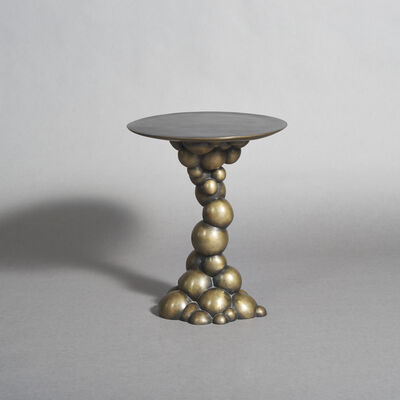Erin Sullivan, 'Blackened Bronze Bubble Side Table, USA', 2015