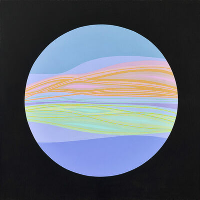 Helen Lundeberg, 'Planet #3', 1965