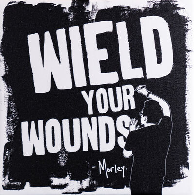 Morley, 'Wounds', 2018