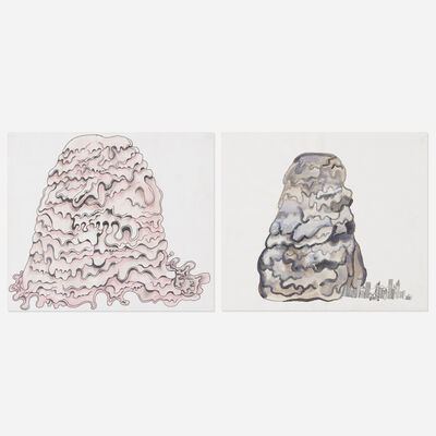 Justin Lieberman, 'Untitled and The Blob (two works)'