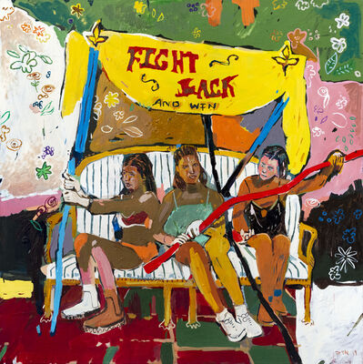 Chris Denovan, 'Fight back and win ', 2019