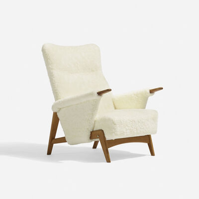 Arne Hovmand Olsen, 'lounge chair, model 480', 1956