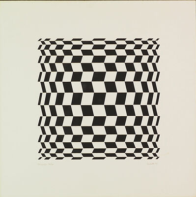 Luiz Sacilotto, 'Untitled', 1975