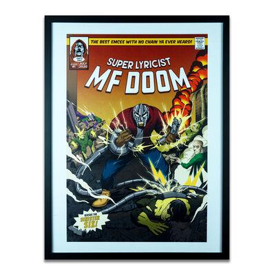 Joon the Goon, 'MF Doom the Supervillain Print', 2020