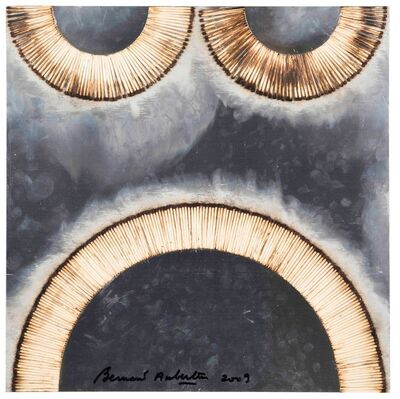 Bernard Aubertin, 'Dessin de feu sur alluminium', 2009