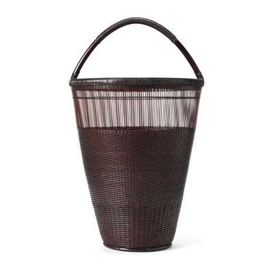Tanabe Chikuunsai II, 'Thousand-Line Plaiting Splayed Flower Basket 19 681', 1910-2000