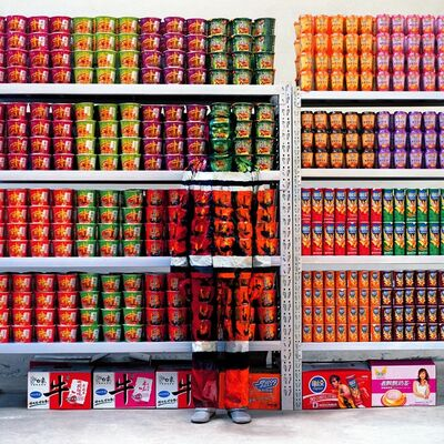Liu Bolin, 'Hiding in the city 83, Supermarket 01', 2009