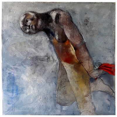 Sadikou Oukpedjo, 'Rêve infini d'un peuple', 2019
