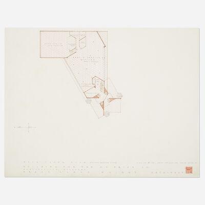 Frank Lloyd Wright, 'Plan for Price Tower, Bartlesville, Oklahoma', 1952