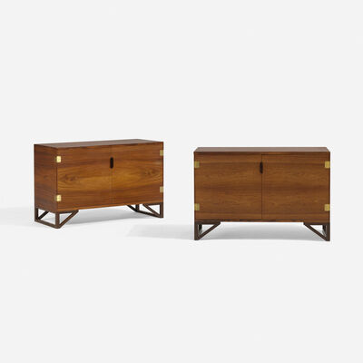 Svend Langkilde, 'pair of cabinets', c. 1960