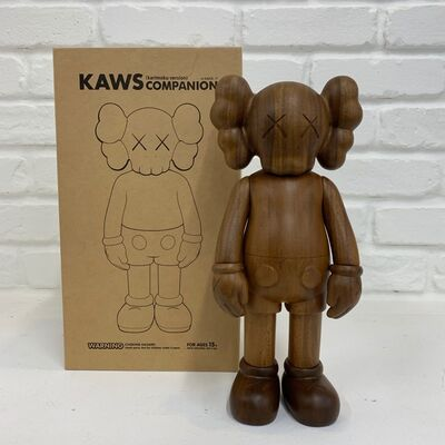 KAWS, 'Companion (Karimoku, Wood Version)', 2001