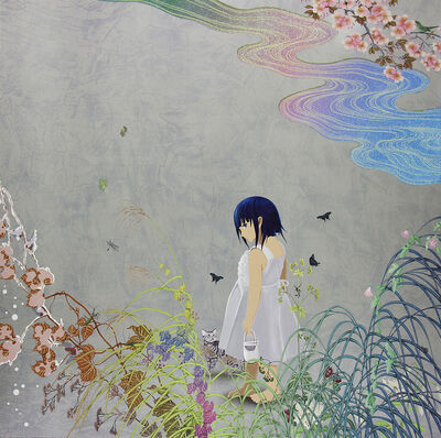 Hiroshi Mori, 'Mother - The Girl Who Takes Off Shoes ', 2013